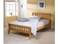Solid Beech Super King Bed