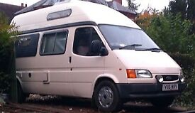 Much sought after Ford Duetto 2.5 Turbo Diesel Autosleeper automatic