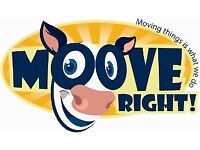 Removals Service - Man and Van - Moove Right! moving things is what we do