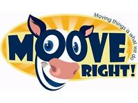Man and Van Removals - Moove Right! A Local Family Run Business.