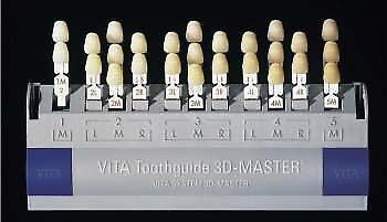 Vita Toothguide 3d Master With Shade Guide Original