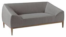 Dwell Hampton Two (2) Seater Sofa in Grey / Pewter