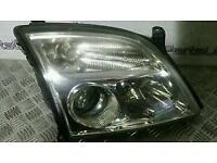Vauxhall vectra c drivers side headlight