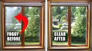 Foggy or Cloudy Windows? Get It Replaced Today!
