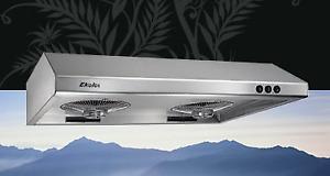 Hotte de cuisine stainless Ekolos EP-9630S neuve 580CFM