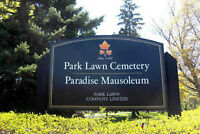 Park Lawn Cemetery - Large Family Burial Plot for Sale