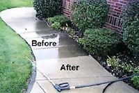 Pressure Washing Services for Residential and Commercial Clients