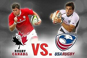Canada vs USA Men's Rugby