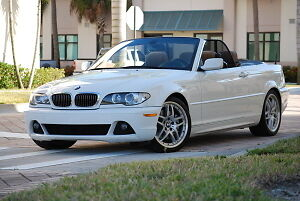2003 et + BMW 3-Series 330ci convertible generation e46