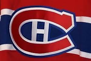Habs tickets - Paires de Billets des Canadiens - Bleu - AU COST
