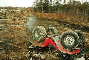 Wrecked, Rolled, Blown Up ATV's and Side By Sides