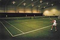 Tennis indoor grass courts $40/hr rentals! Book it!