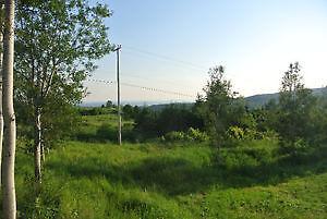Terrain à vendre Sainte-Anne-des-Monts
