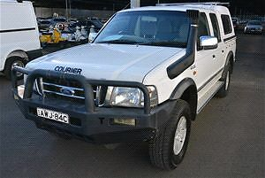 Ford courier dual cab Australia Preview