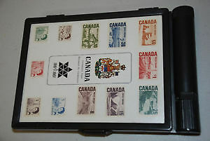Canadian centennial stamp collection in box
