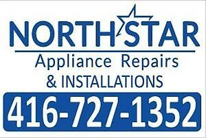 Appliance Repair & Install Fridge, Dishwasher, Washer, Dryer