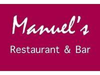 Restaurant Full Time Waiter/Waitress