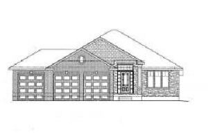 New Construction Bungalow with 3 car garage in Simcoe