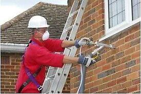 Free cavity wall insulation.