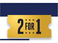 2 for 1 code on any cinema ticket **7th or 8th Feb**