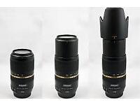 Tamron SP 70-300mm F/4-5.6 VC Di USD Lens - Canon Fit.