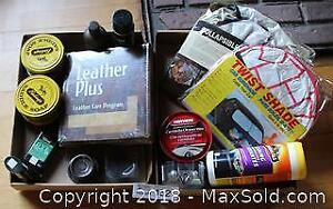 """Leather Care Kit - Car Shades and Car Care Cleaners Pick up in Time-slot """"B"""""""