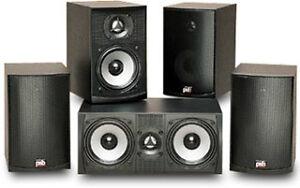 PSB Alpha intro and subzero 5.1 speakers