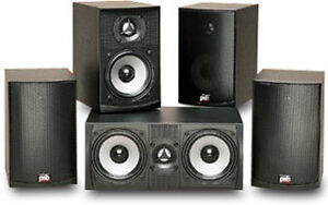 PSB Alpha intro and subzero 5.1 speakers