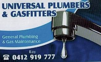 Universal Plumbers & Gas Fitters