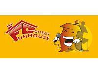 Funhouse Comedy Club in Ashby-de-la-Zouch