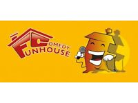 Funhouse Comedy Club - Comedy Night in Ashby-de-la Zouch