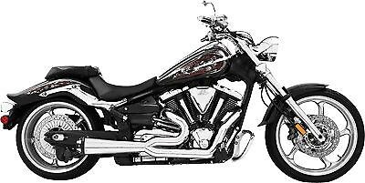 Freedom 2-Into-1 Exhaust System-Chrome Suzuki Boulevard/LE 2006-2014 MS00010