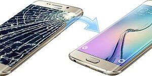 Samsung S3 S4 S5 S6 edge Note 2 3 4 broken screen Repair Service