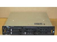 Dell server power edge 2850. xeon CPU 2GB rem