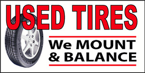 TIRE CHANGE&BALANCE FOR $12.50 EACH