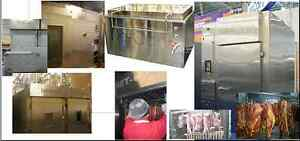 Curing and maturing chamber,Freezing tunnel,Defrosting chamber