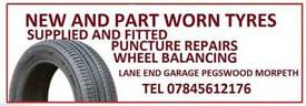 225 45 17 tyres brand new Only£ 40 fitted and balanced