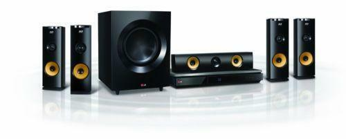 Lg Tv With Home Theatre System Wireless Speakers