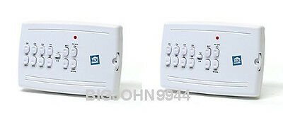 Two Pack X10 MC10A 8 Unit Plug in Mini Controller (Updated MC460 ) Factory Fresh