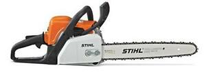 Stihl MS170 Chainsaw Includes-(Free Wood Pro Kit)
