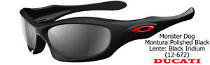 Oakley Monster Dog Ducati Edition Sunglasses