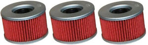 Honda-Pioneer-700-amp-MUV700-Big-Red-Utility-Vehicle-HF111-Oil-Filter-3-Pack