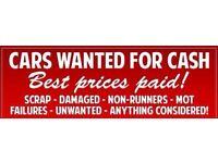 Wanted car vans cash paid