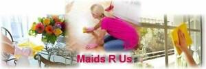 Maids R Us - Professional AFFORDABLE Cleaning Services for you