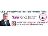 Safehands Funeral Plans from only £6 per week