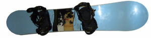 Evo RIDE grace 146 snowboard with Binders (snow board) NEW