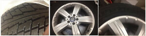 4 WINTER TIRES WITH RIMS - 265   60   18
