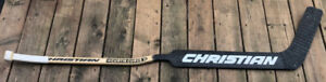 Vintage Christian Curve hockey goalie stick