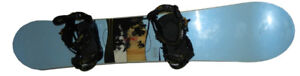SNOWBOARD - Ridge grace 146 with binders - BRAND NEW