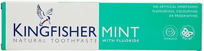 Kingfisher Toothpaste - Mint (With Fluoride) - 100ml (Pack of 3)